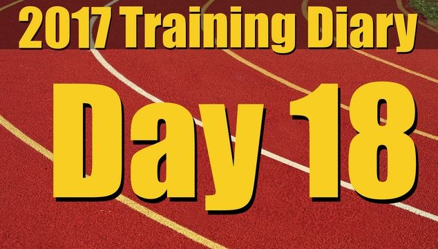 2017 Training Diary: Day 18 – Rest