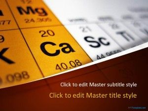 Free Periodic Table PPT Template