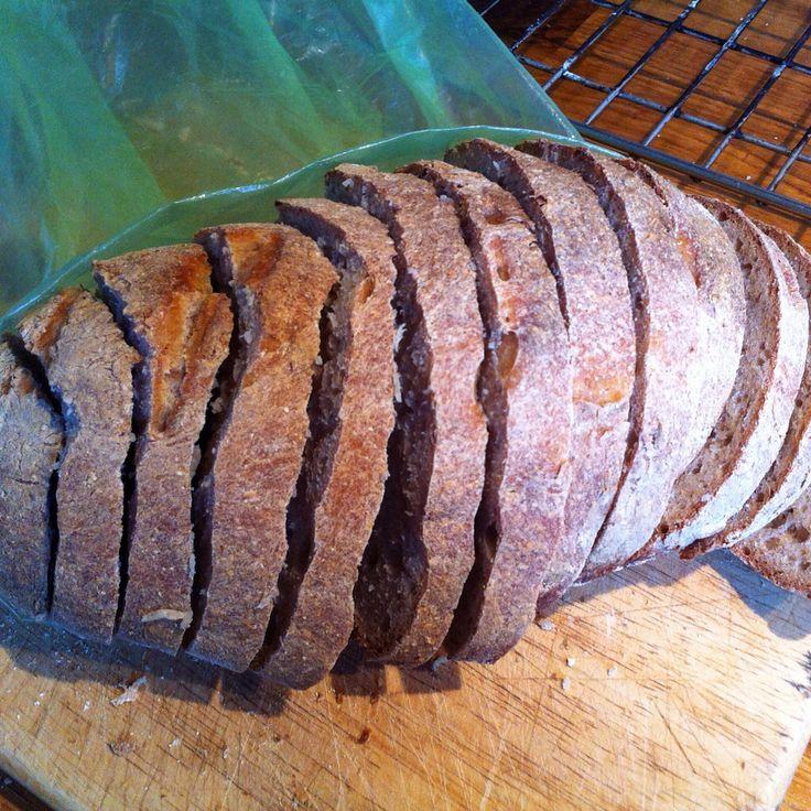 My homemade bread. Yum!