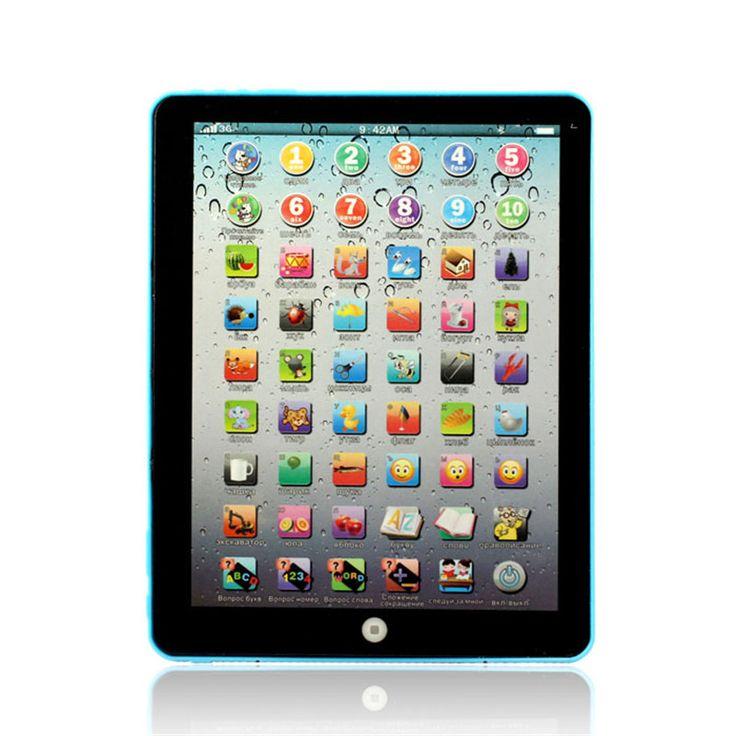 1 PC Rusia Belajar Komputer Tablet Mesin Pendidikan Mainan Hadiah Untuk Anak-anak Levert Dropship A8061