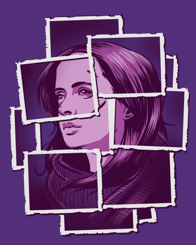 #JessicaJones fan-art ((by Fishmas.deviantart.com on @DeviantArt))
