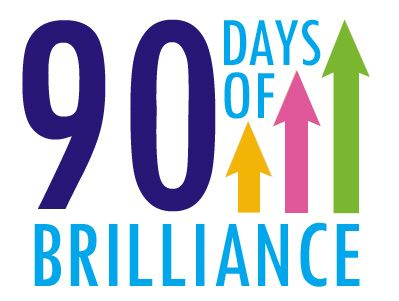 """90 Days of Brilliance 