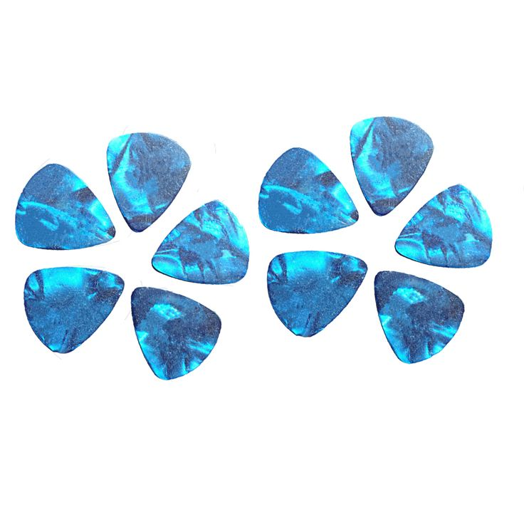 Hot 10Pcs Blue Thin 1mm Assorted Acoustic Electric Guitar Picks Plectrum High Quality Musical Instruments Parts Free Shipping #women, #men, #hats, #watches, #belts, #fashion, #style