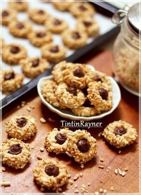 Peanut Choco Thumbprint Cookies renyah+step by step