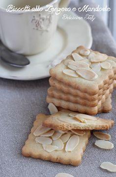 Biscotti allo Zenzero e Mandorle