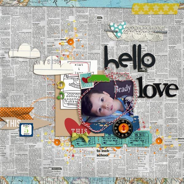 love the newsprint background: Backgrounds Paper, Scrapbook Ideas, Backgrounds Layout, Child Photo, Awesome Layout, Cool Backgrounds, Cute Backgrounds, Scrapbook Layout, Books Backgrounds