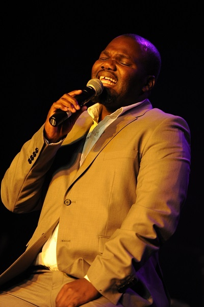 Mbuso Khoza will perform on Conga Stage at the 2013 Standard Bank Joy of Jazz event
