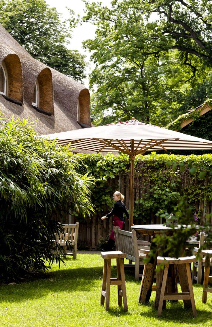 Sommer Garten landhaus Flottbek