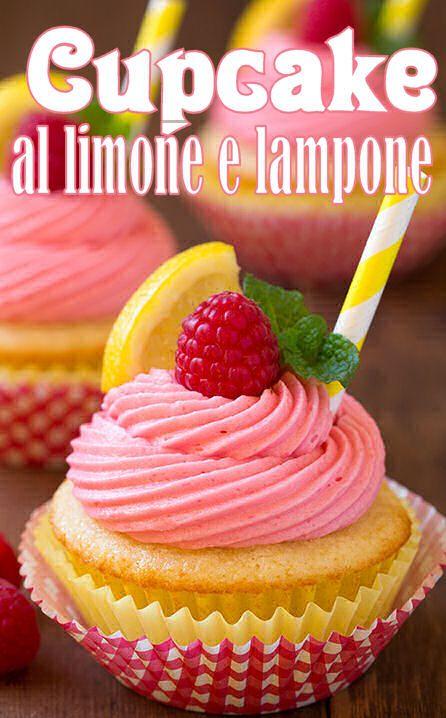 Cupcakes al limone e lampone