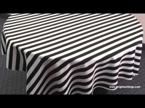 Tablecloth - Awning Stripe II