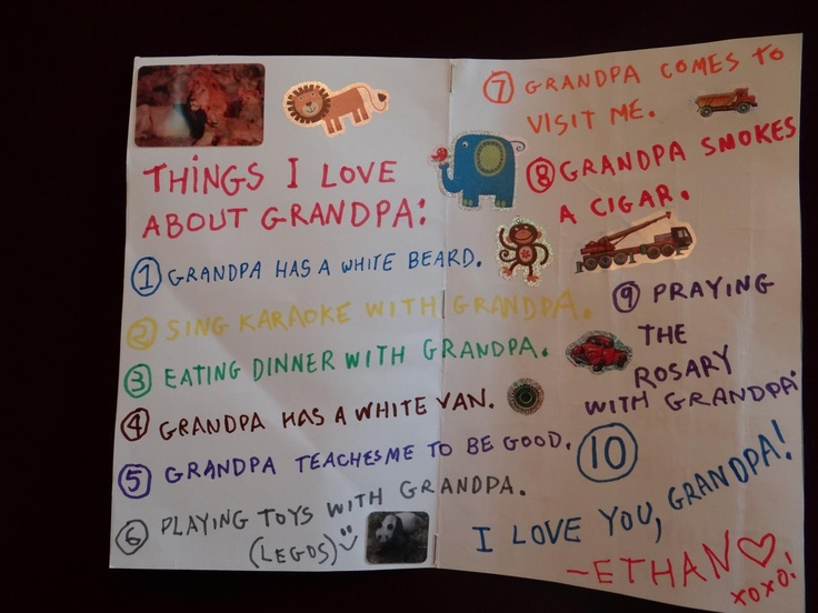 Imgenes De Handmade Birthday Cards For Grandfather