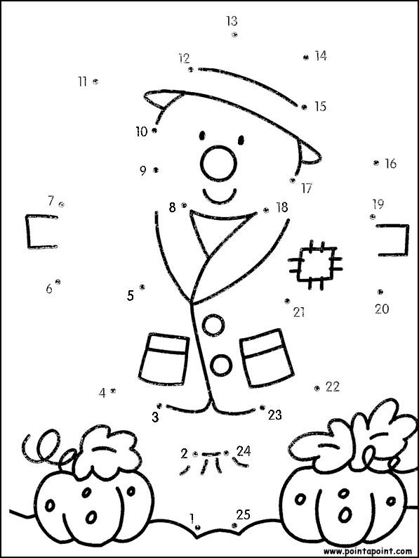 Worksheets Connect The Dots 1 To 17 1000 images about dot to on pinterest preschool jeux du dessin en points relier fall leaves amp scarecrows scarecrow dot