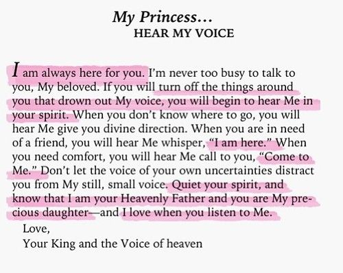 To My Princess...okay gonna go cry now. love.