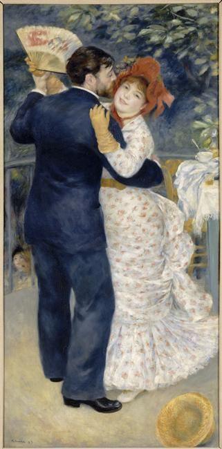 Auguste Renoir | Danse à la campagne | Images d'Art