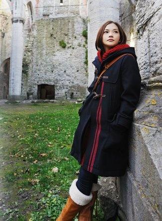 #YUI #japanese singer songwriter #fashion #winter