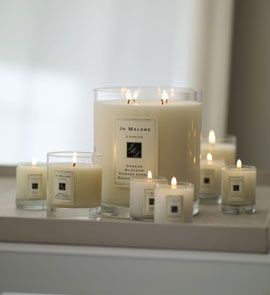 Jo Malone candles. Classic and smell amazing in your room. White Jasmine and Mint is my favorite scent.