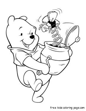 Disney Princess Coloring Pages Another Picture And Gallery About Free Winnie The Pooh Ariel