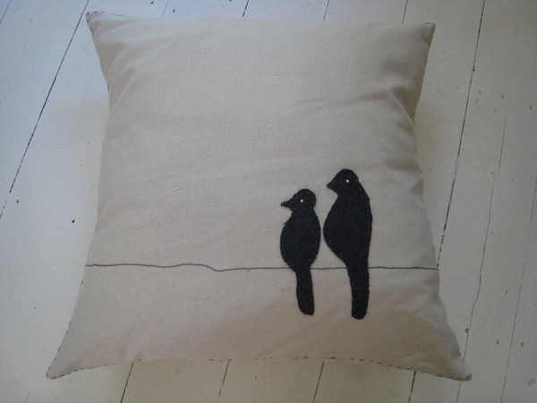 Birds at Sunset Scatter - Cushions and Scatters - Living Room - Home & Decor