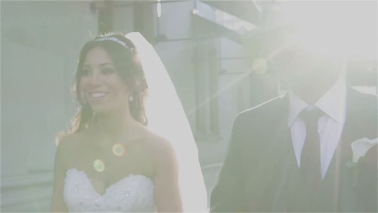 Mina and Payman, a beautiful union in white. #fairmontweddings