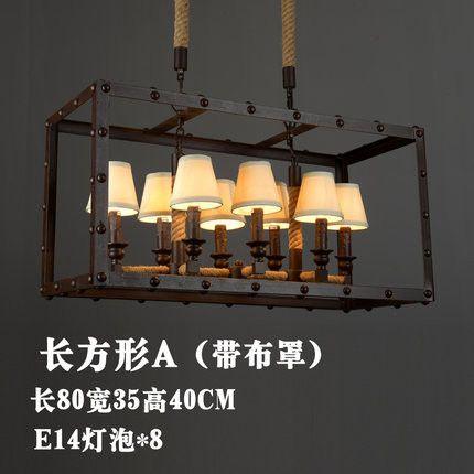 America Country Rope Lamp Vintage Industrial Loft Edison Glass Pendant Lights Suspension Luminaire Hanglampen Luces Pendientes