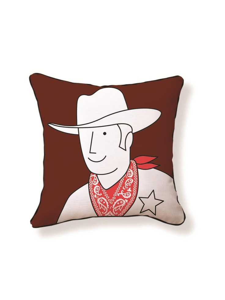 Naked Decor - Cowboy Pillow | VAULT