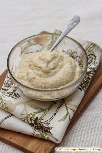 Nóri's ingenious cooking: Cashew sour cream (#vegan & #raw recipe)