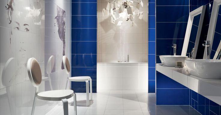 Плитка для ванной Maciej Zien - Berlin Tegel в интерьере