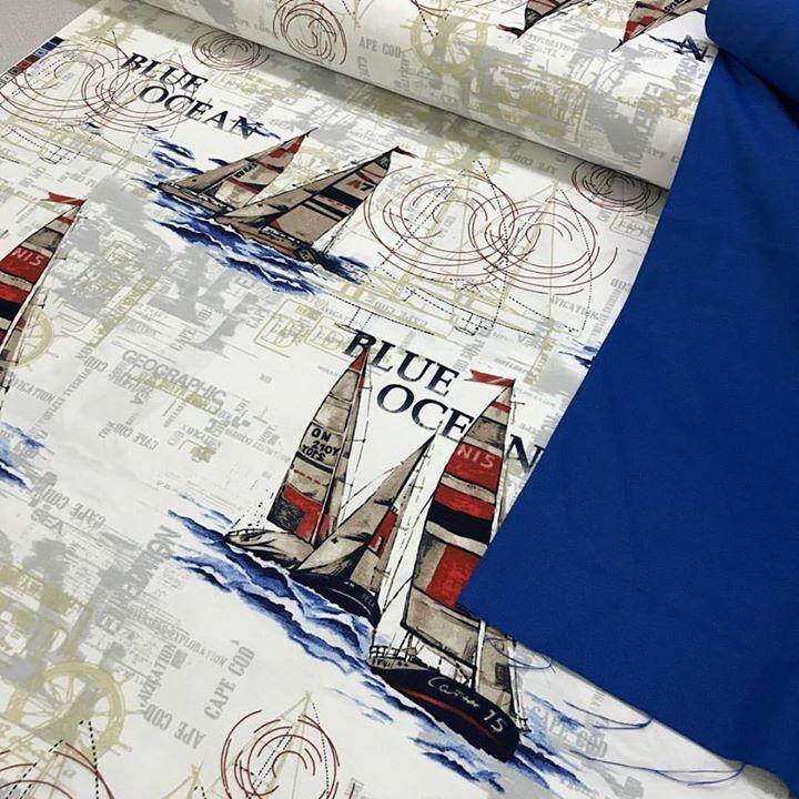 Blue ocean Panama Keteni En 180 cm metresi 17.50 Saks Mavi Duck Bezi En 180 cm metresi 12.50  Fon perde  Kırlent  minder  masa örtüsü koltuk kılıfı gibi alanlarda kullanılır. #intaslar #kumaş #duckbezi #panamaketeni #duckketen #duckkumaş