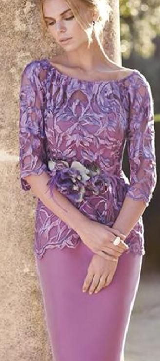 Carla ruiz cream lace dress & jacket