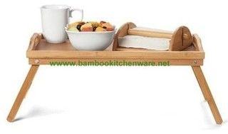 Bamboo serving tray /bed tray/plate - Traditional - Closet Organizers - other metro - by Bumboo Box Inc