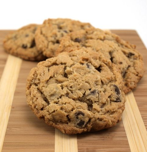 The BEST oatmeal, peanut butter, choc. chip cookies!..guess i'll have to try it...