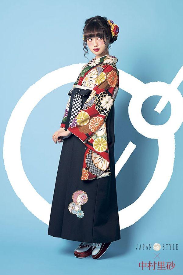 Japonesita hermosa vistiendo kimono