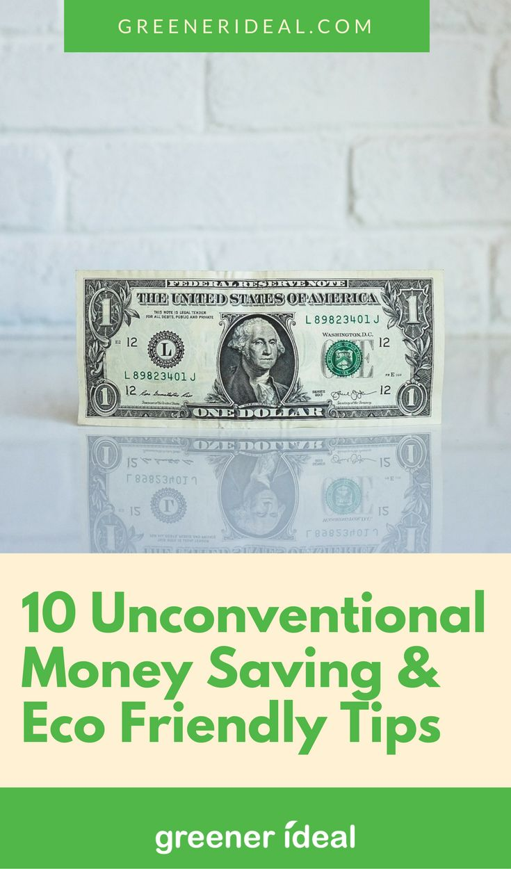 These ten tips from We Know Savings will keep money in your pocket while keeping Mother Earth happy.