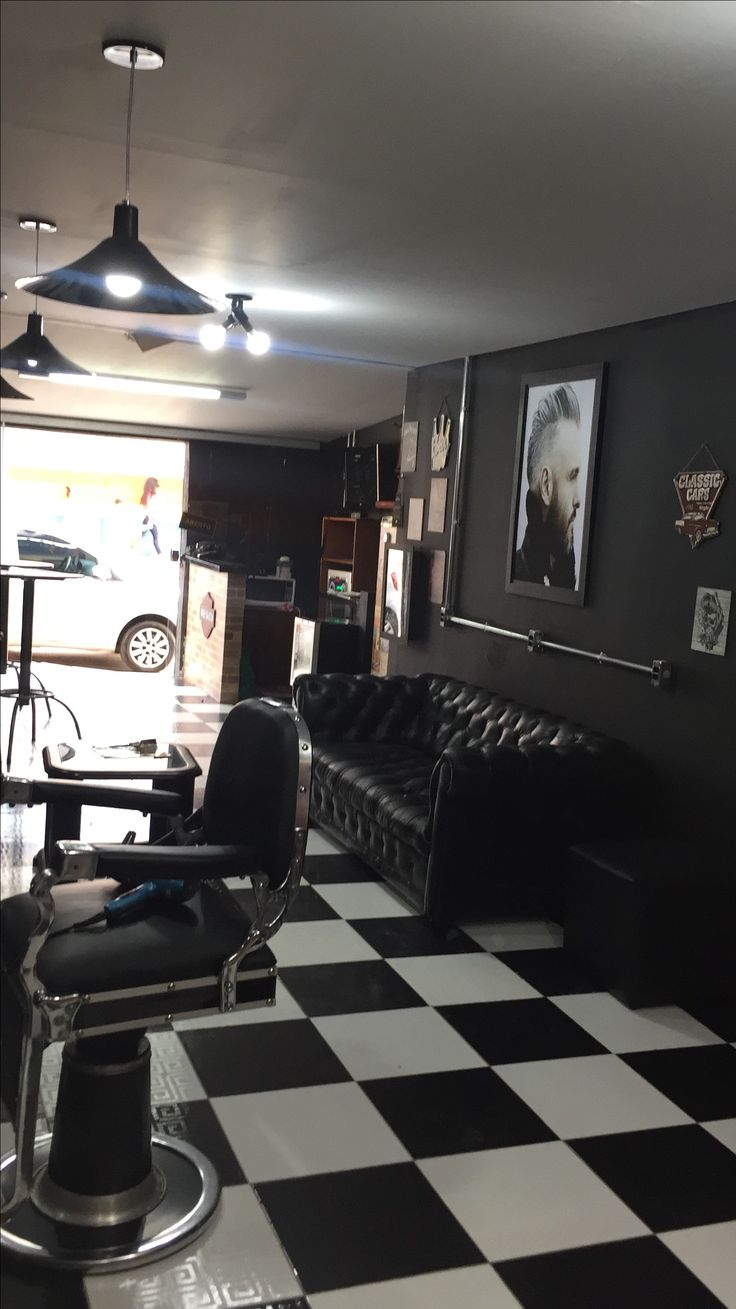 Desain Barbershop Minimalis Karuga Leonard Karugal On Pinterest