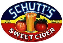 Schutt's Apple Cider in Webster, NY