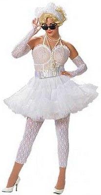 Madonna cone boob costume not so
