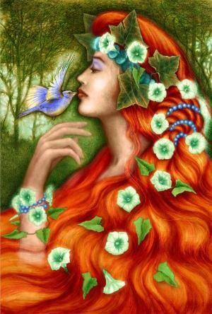 """""""Mnemosyne, la diosa de la memoria y el controlador de tiempo, era la hija de Urano (el Cielo) y el Gea (la Tierra). Por lottie"""