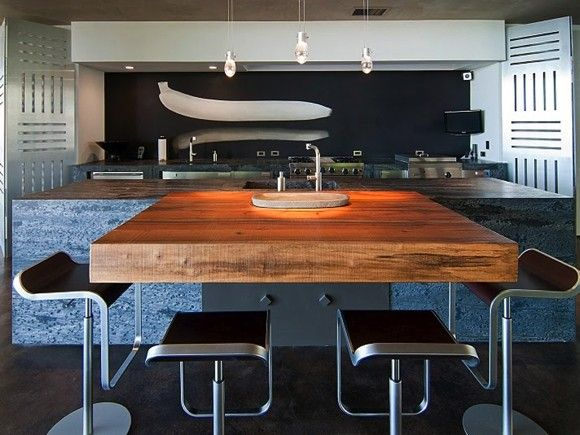 Contemporary Kitchens with Island - Decoholic