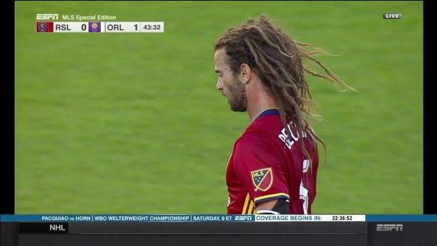 #MLS  SHOT: Kyle Beckerman long range blast misses high