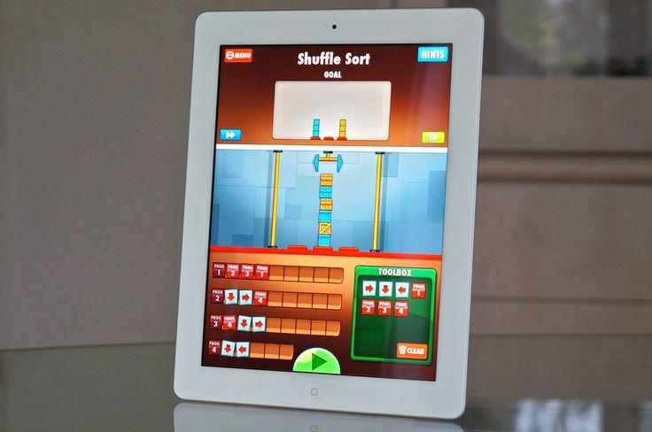 Cargo-Bot – teaches kids core programming and algorithm concepts through logic games.