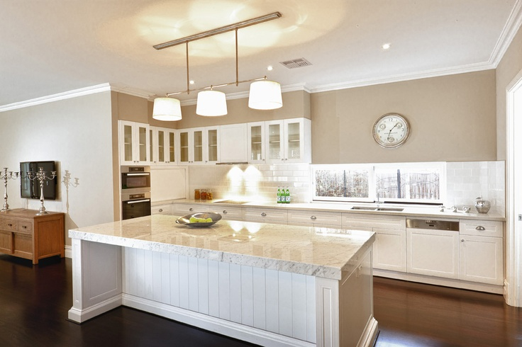 Hamptons Style Not Center Kitchen Design Pinterest