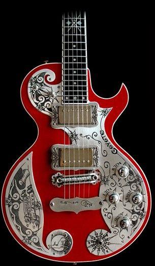 Teye Guitars Coyote Electric Guitar, American Songwriter, Songwriting