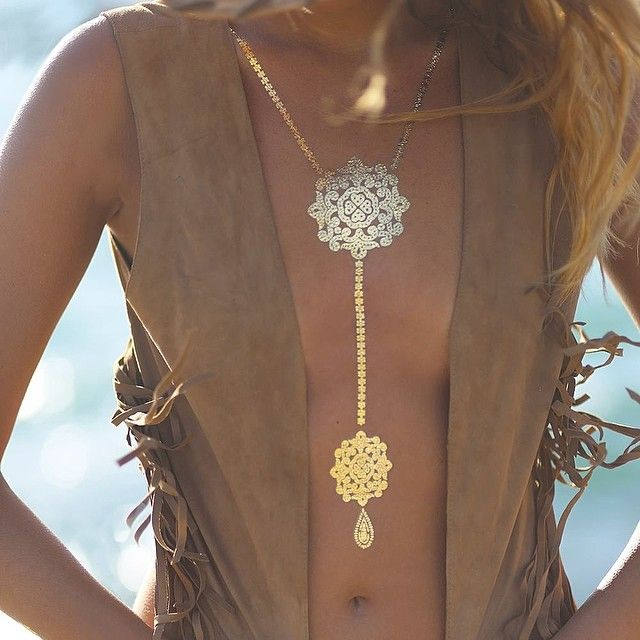 Sexy Boho Chic Modern Hippie Jewelry Tattoos. For the BEST Bohemian fashion trends FOLLOW http://www.pinterest.com/happygolicky/the-best-boho-chic-fashion-bohemian-jewelry-gypsy-/ now
