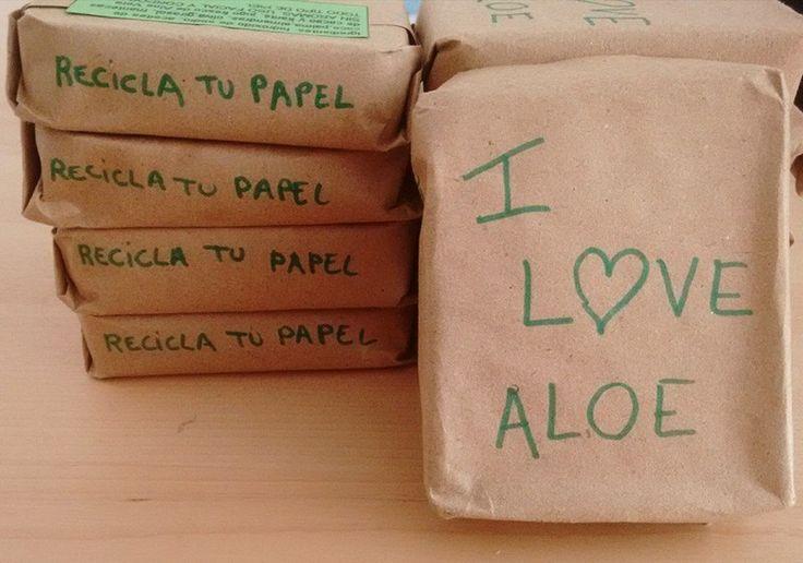 Jabón de Aloe Vera