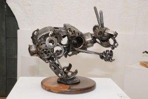 Se exhibirán más de 15 esculturas de figuras humanas, personajes clásicos y objetos abstractos