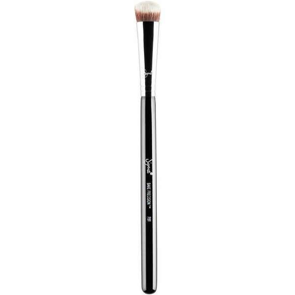 Sigma Beauty P89 Bake Precision Brush ($20) ❤ liked on Polyvore featuring beauty products, makeup, makeup tools, makeup brushes, no color, sigma makeup brushes, slanted makeup brush, sigma cosmetic brushes and angled makeup brush