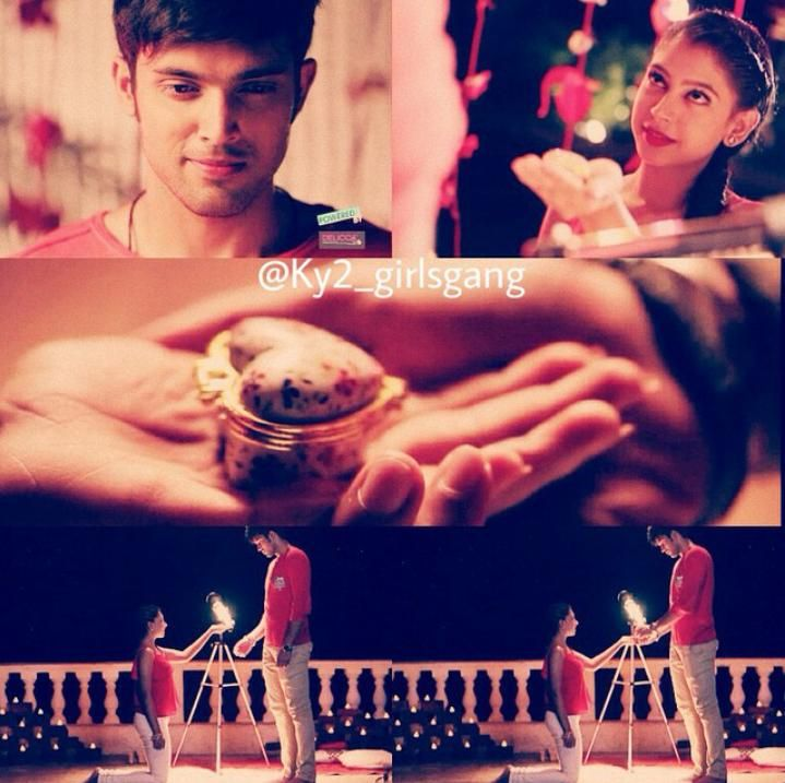 Princess gifted a heart to her prince  #manan  @niti_taylor @LaghateParth