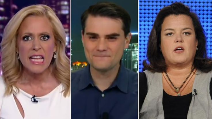 """If She Was a MAN and Said That..."" Ben Shapiro DESTROYS Rosie O'Donnell..."