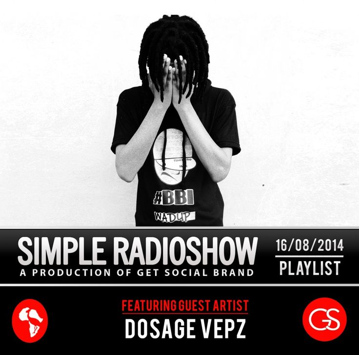Simple Radio Show 16/08/2014 - Dosage Vepz