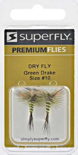 Superfly Dry Fly Drake#10 Fishing Equipment, Green  https://fishingrodsreelsandgear.com/product/superfly-dry-fly-drake10-fishing-equipment-green/  Number one in fishing sports Manufactured in the country of China Made of the highest quality material
